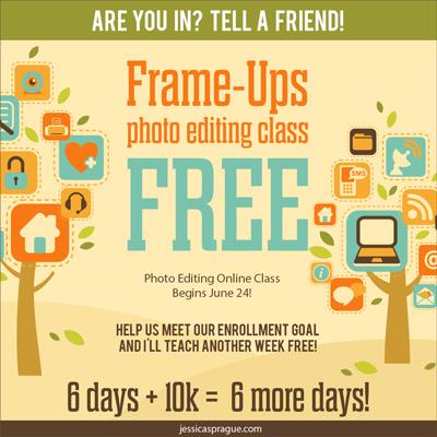 Free Photo Editing Class